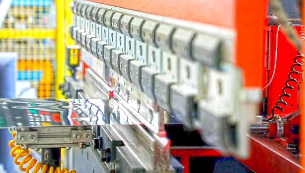 Modulo Inox: la lavorazione dell'acciaio